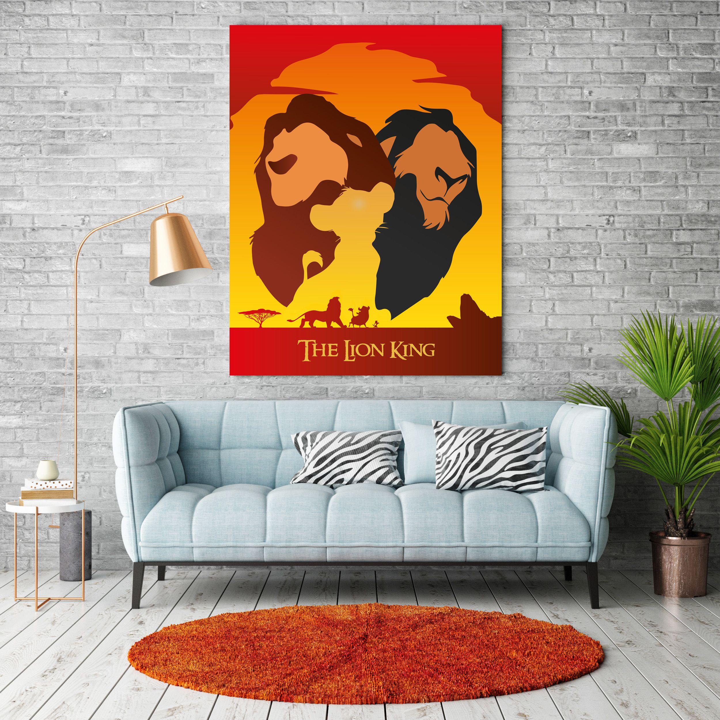 The Lion King Alternative Movie Poster / Disney / Simba