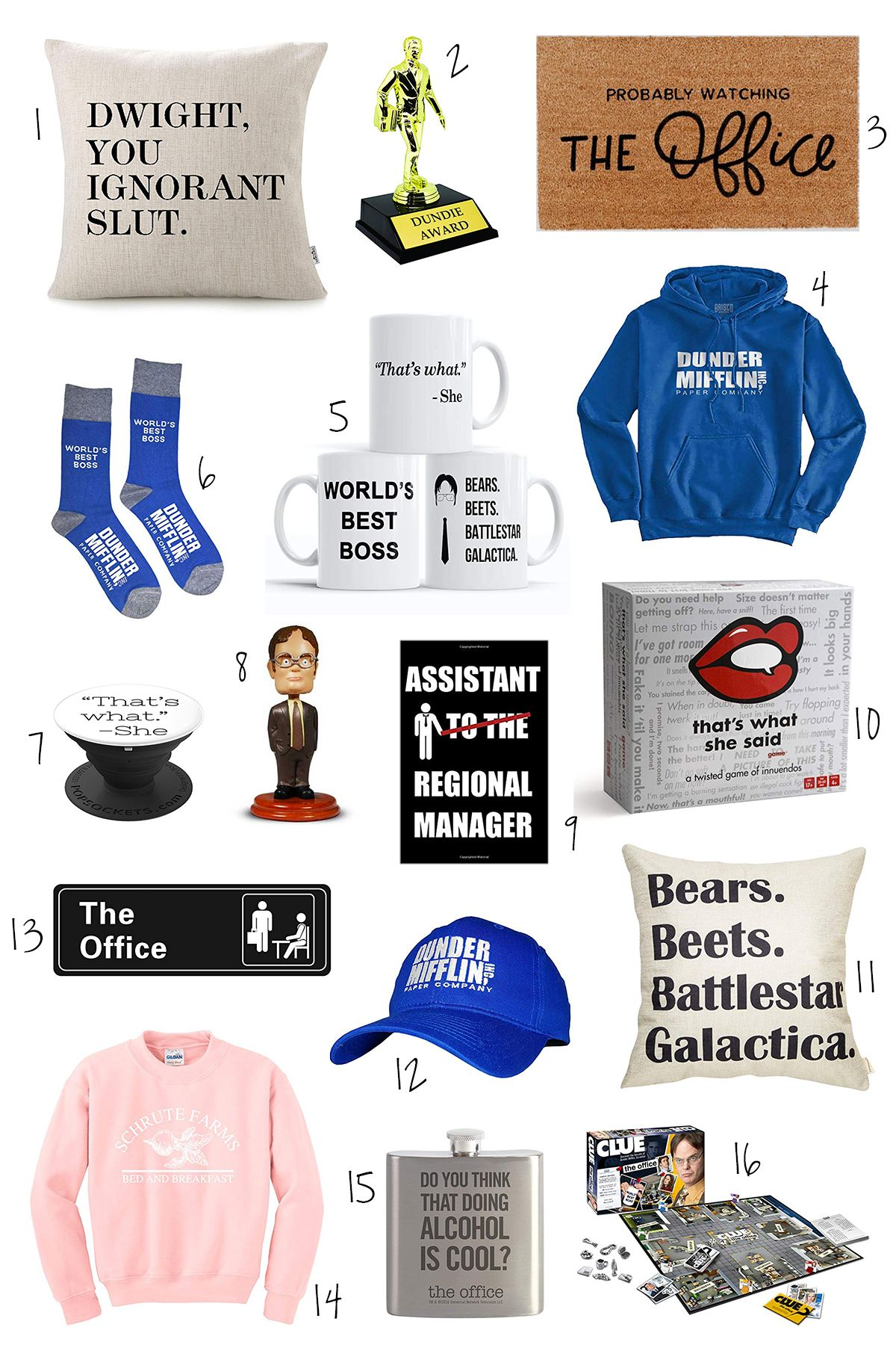 16 The Office Themed Gift Ideas For Diehard Dunder Mifflin Fans Office Birthday Party Office Themed Party The Office Show
