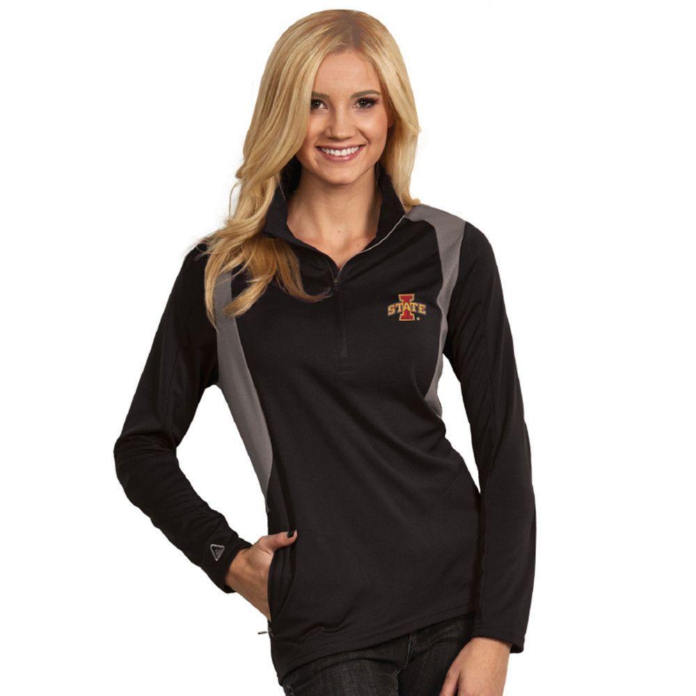 Iowa State Cyclones NCAA Delta Womens Sports Pullover Black