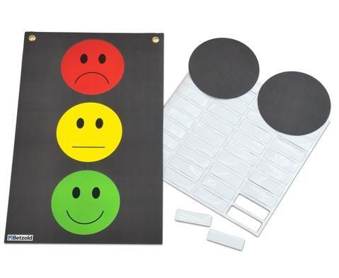 Magnetische Verhaltensampel, hilft um Regeln in der Klasse ...