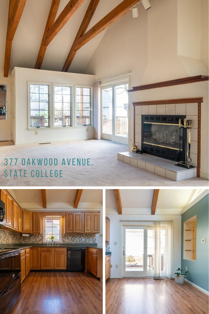 Lovely Townhome in State College for Sale Townhouse