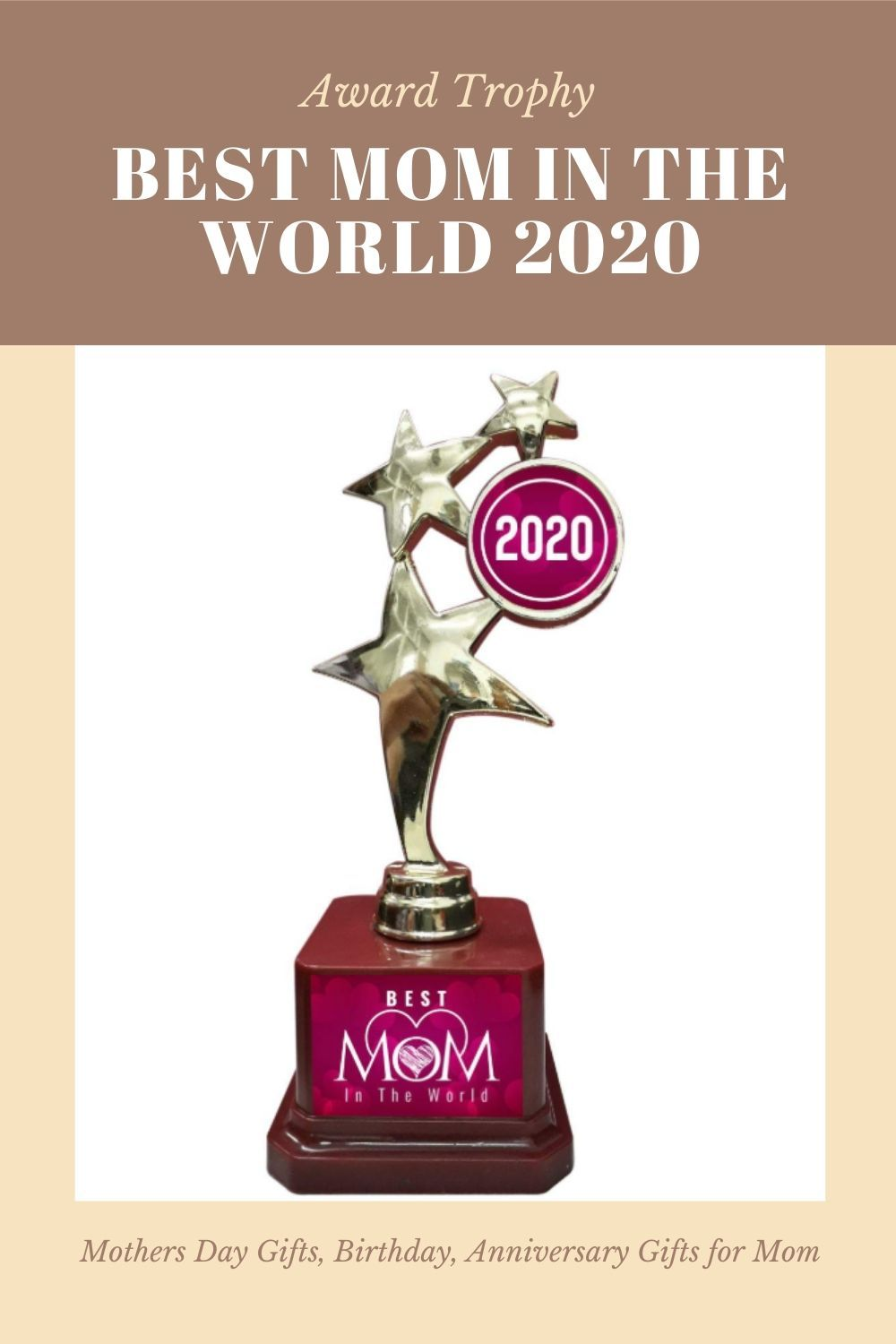 Ma Tujhe Salaam Trophy Design Best Mom Gifts Mothers Day Gifts Anniversary Gift Ideas For Mom Gifts For Mom Anniversary Gifts Gift Suggestions Best mom in the world award