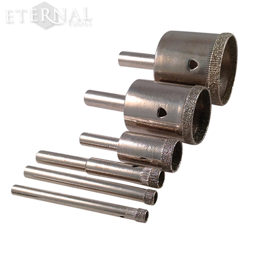 Diamond Core Drills And Diamond Hole Saws Drill Dremel Drilling Glass
