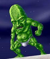 From what I understand, John Steinbeck dreamed of pickle men in their underwear.