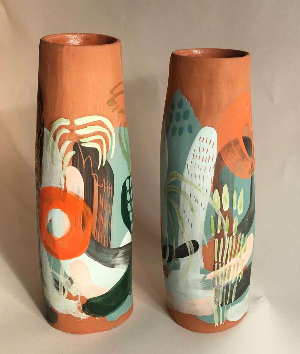 Joely Clinkard Surface In 2020 Pottery Painting Free Spirit Art Ceramic Art