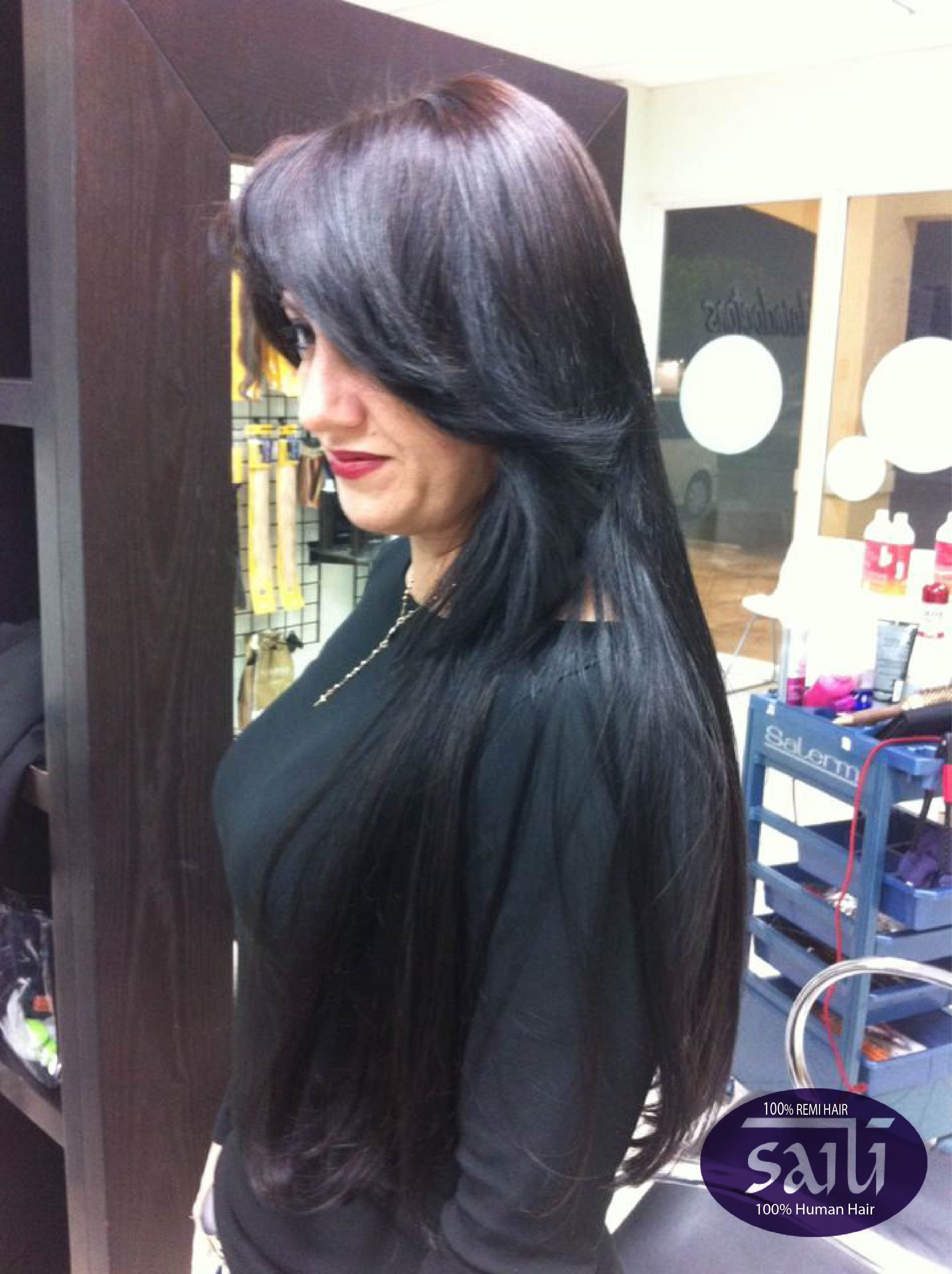 Beautiful Tape Hairextensions Work Done At The Tamiami