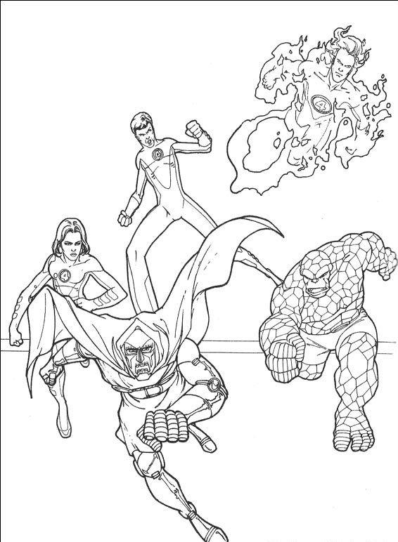 Fantastyczna Czwórka #60 - Pokoloruj ulubione postacie z bajek na ...