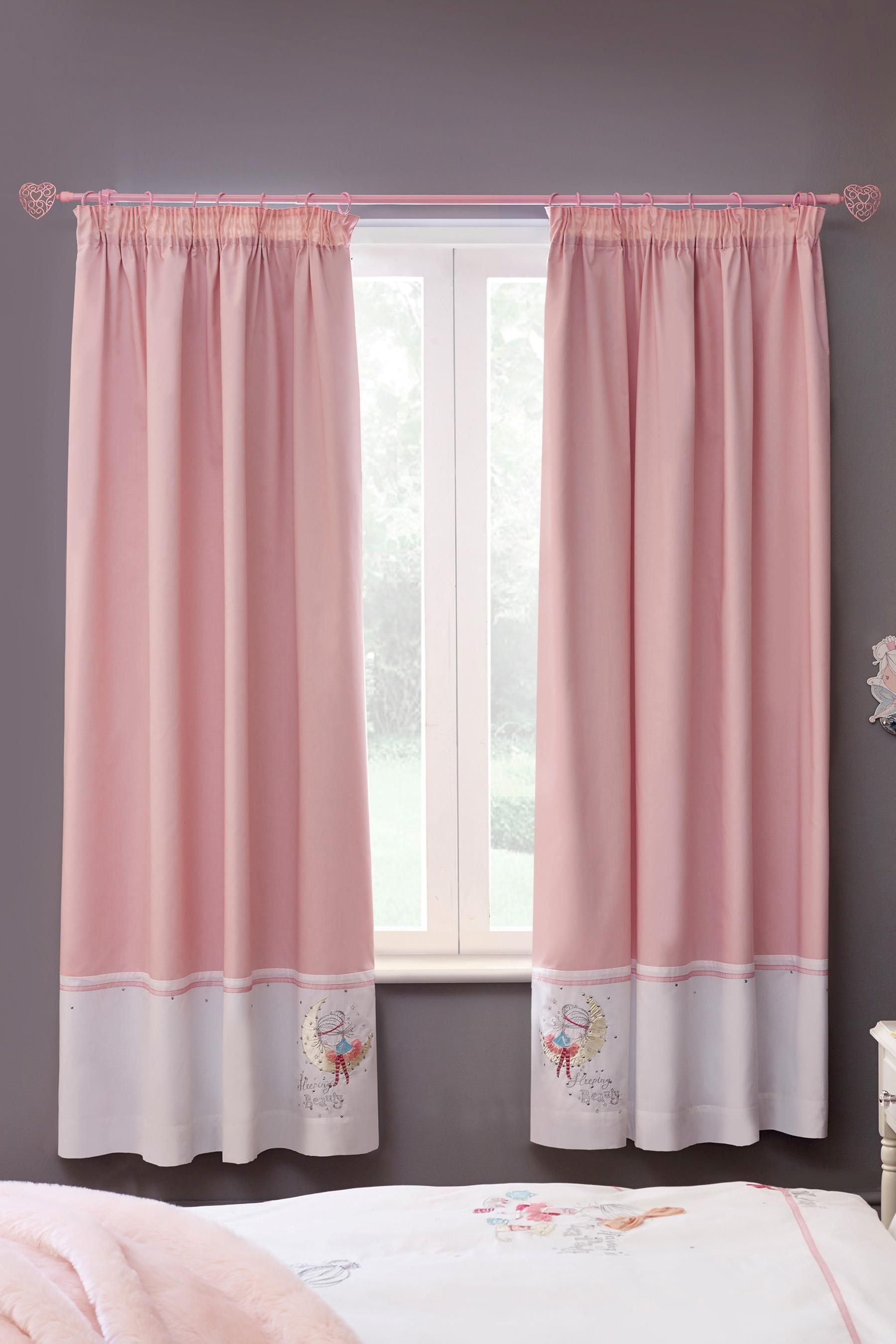 Buy Isabella Fairy Pencil Pleat Blackout Curtains From The