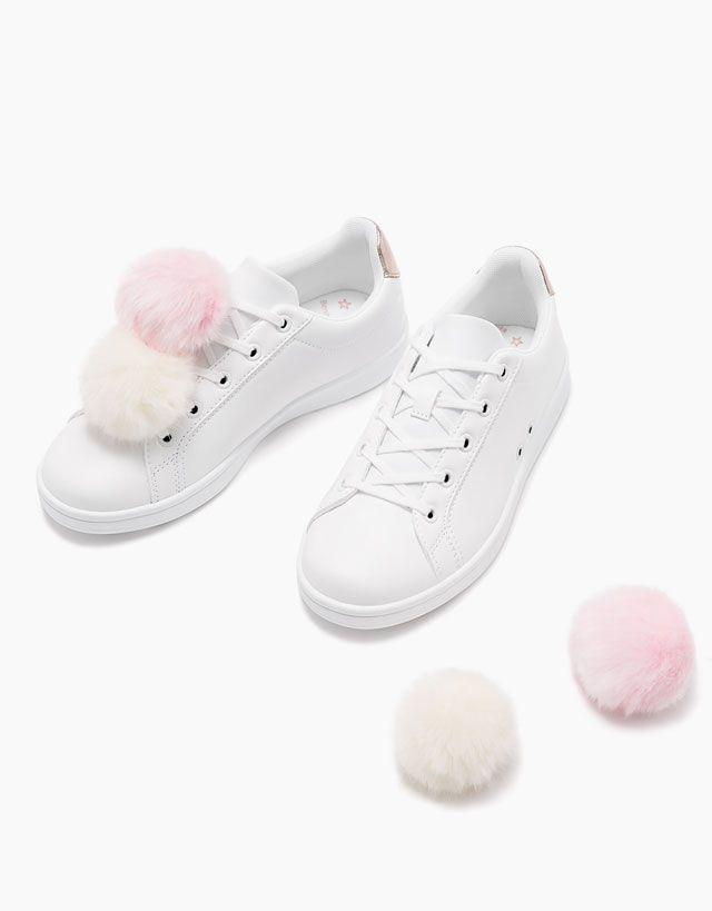 Sneakers | Zapatos DAMES Bershka Belgium | Sneakers M¥ ho T¥L 63aa51
