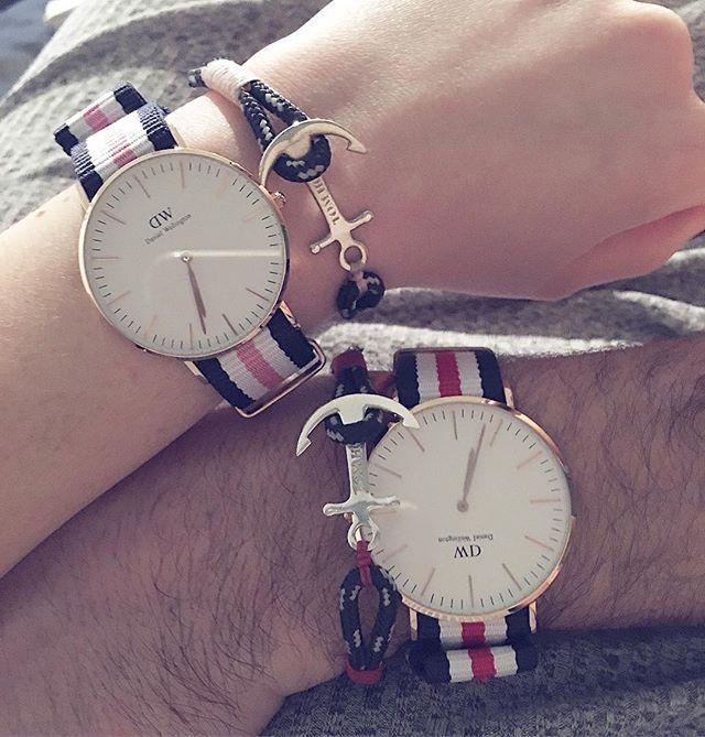 Assez danielwellington #tomhope #montre #couple #amour #ancremarine  KQ46