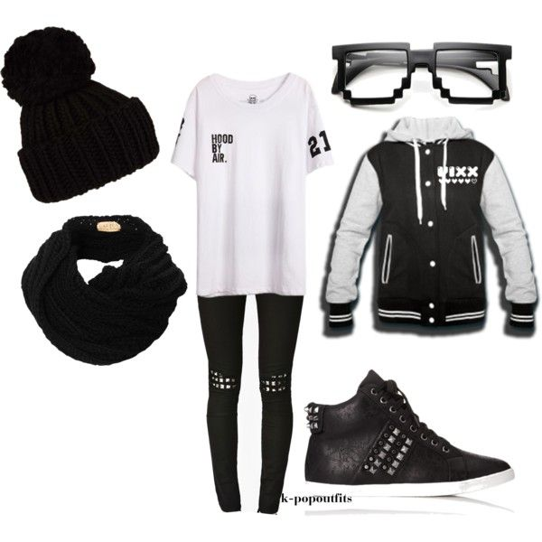"""""""vixx"""" by chichi23 on Polyvore i wish i could pull off this outfit! Im too curvy to pull it off well"""