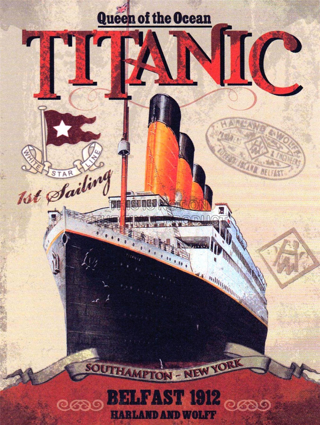 Resultat De Recherche Dimages Pour Affiche Titanic