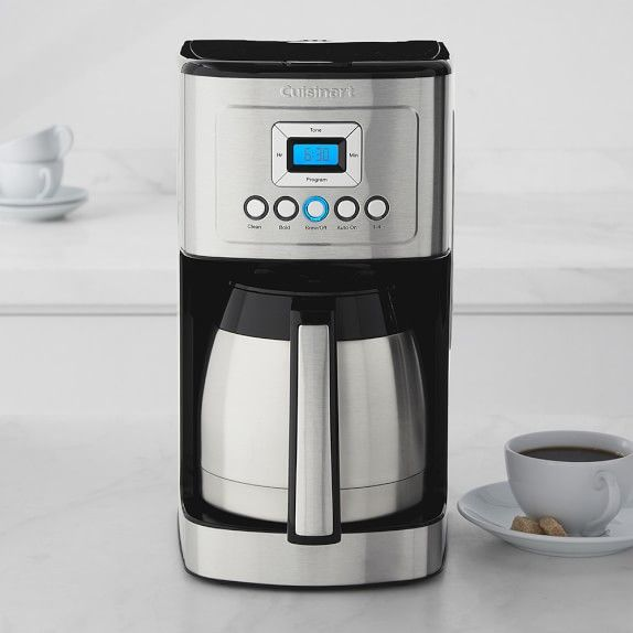 Cuisinart Perfectemp 12 Cup Programmable Coffee Maker With Thermal Carafe Cuisinart Coffee Maker Thermal Coffee Maker Coffee Maker Machine