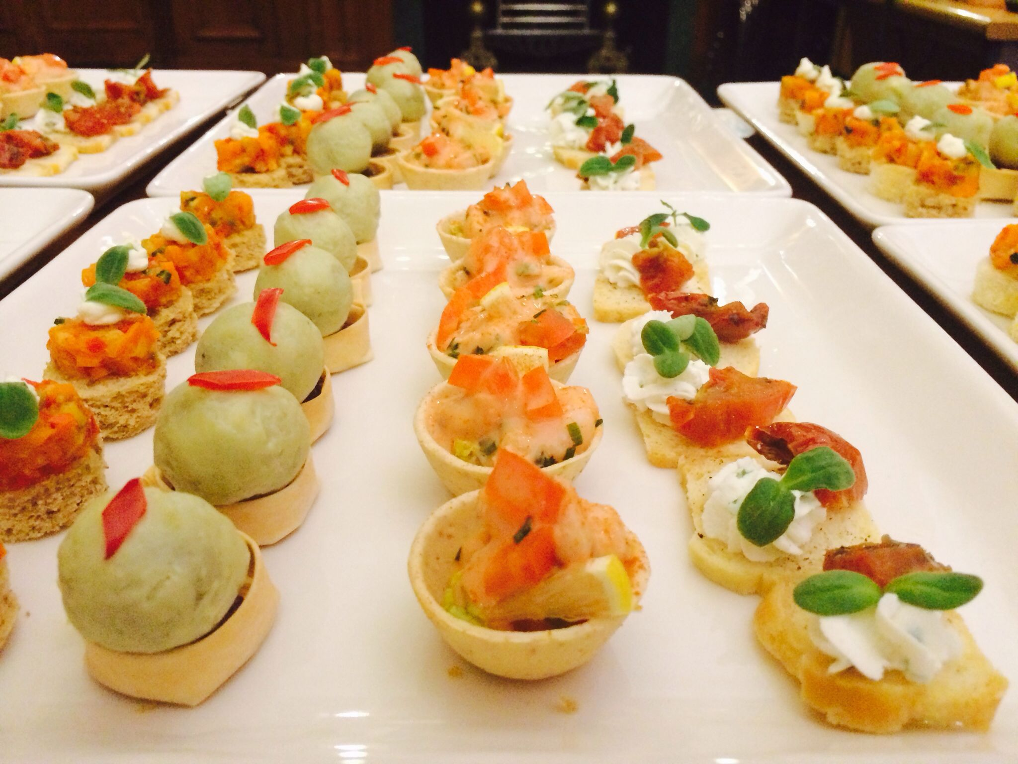 Canapes appetizers canape pinterest for Canape appetizers
