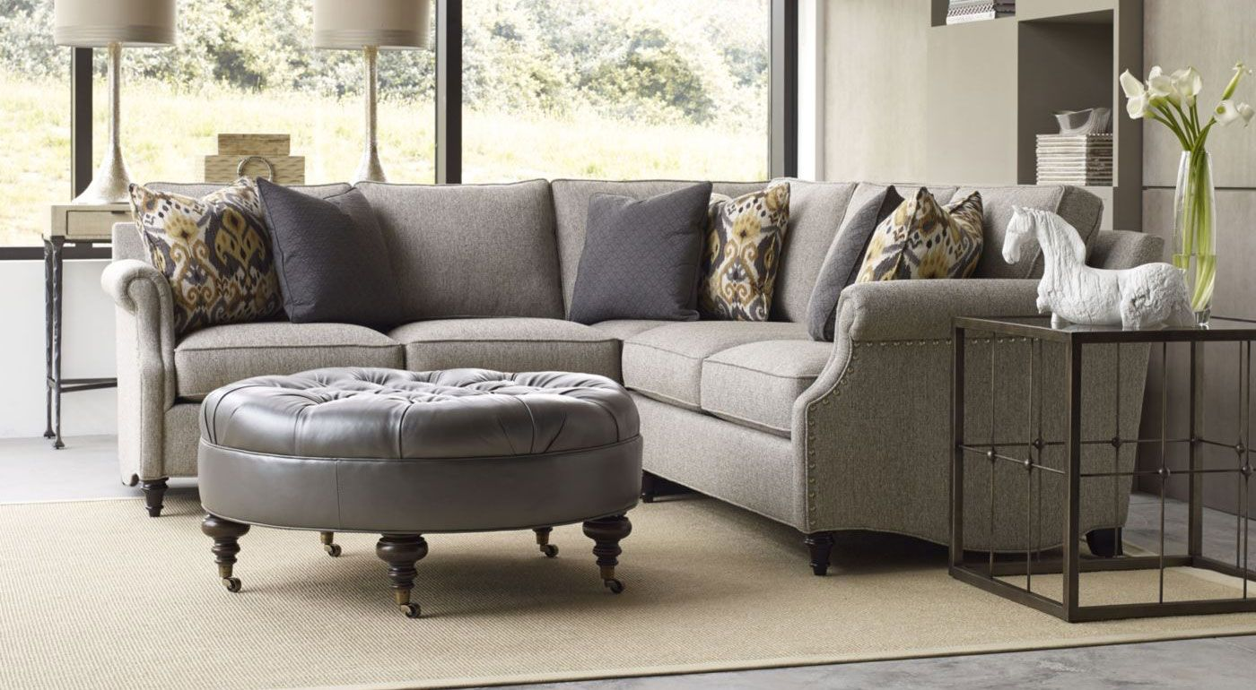See How The Ancil Sectional Sofa From Thomasville Furniture Blends Classic  Tradition And Style Right Into The Family.