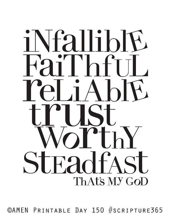 My God 8x10 DIY Printable Christian Poster Bible by AmenPrintables