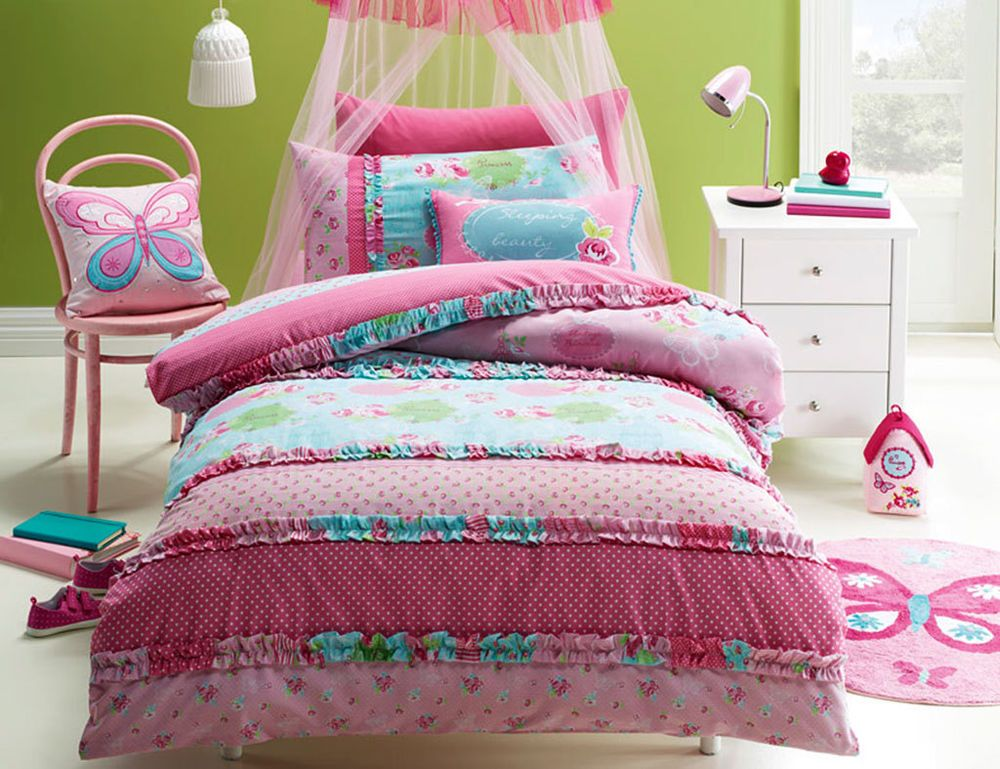 bedding vintage princess bedding quilt doona duvet cover set