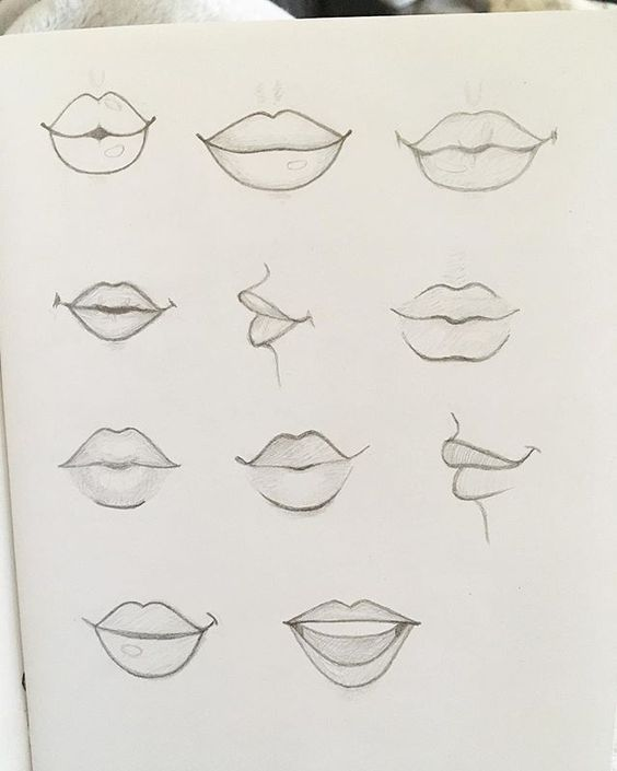 Drawing Mouth It S So Cute Lip Drawing Lips Drawing Mouth Drawing
