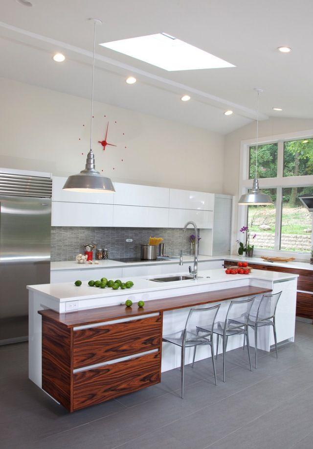 Wonderful kitchen- via Houzz | erot | Pinterest | Cocinas y Casas