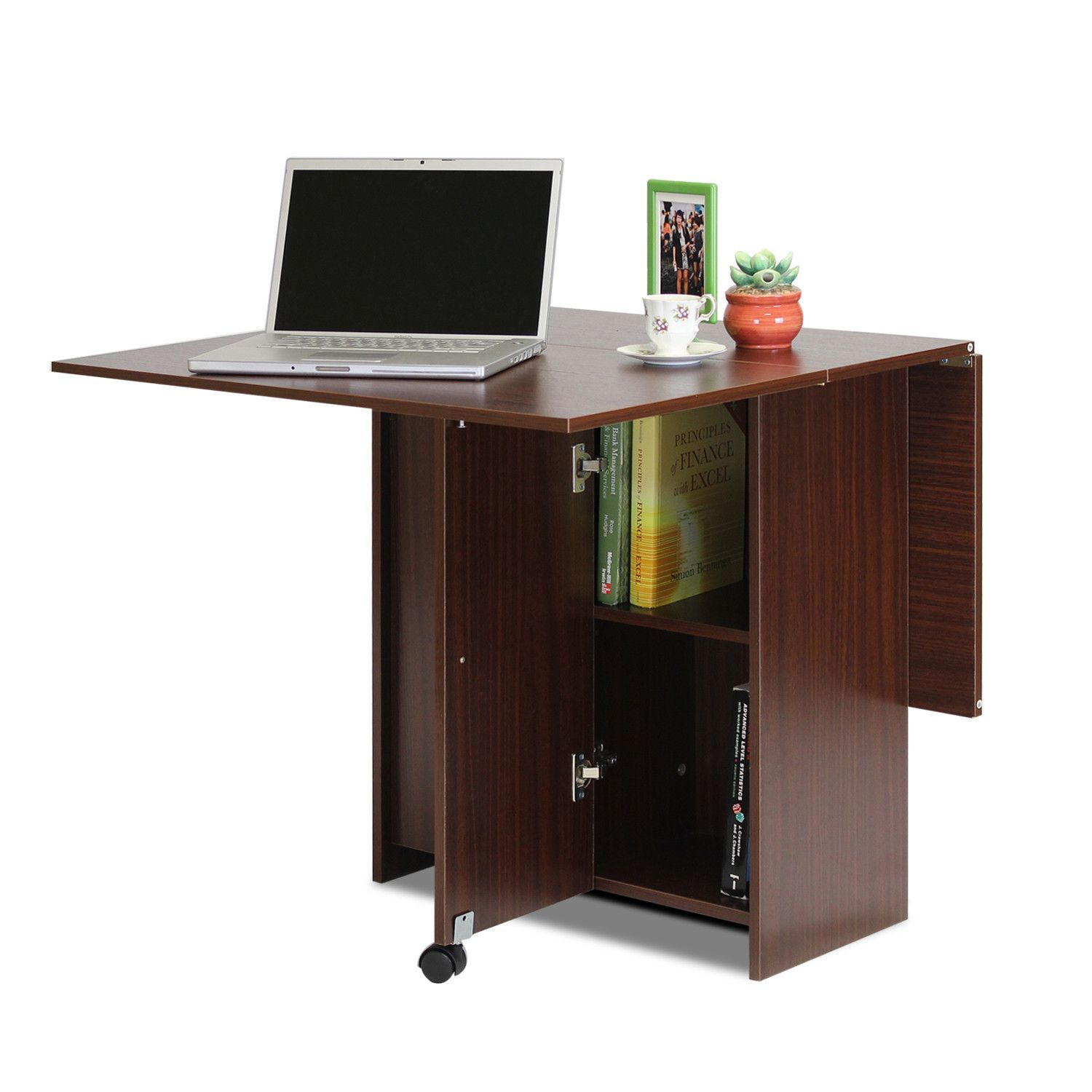 Boyate Folding Multifunction Table Walnut FNAJ