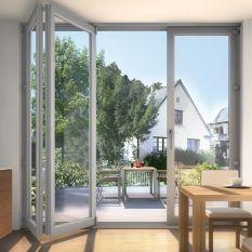 Schiebetür außen kunststoff  Falt-Schiebetüren - Abstell-/ Hebeschiebetür / Faltanlage ...