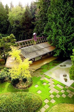 Perfect Bloedel Reserve, Bainbridge Island, WA LOVE The Random Stepping Stones!