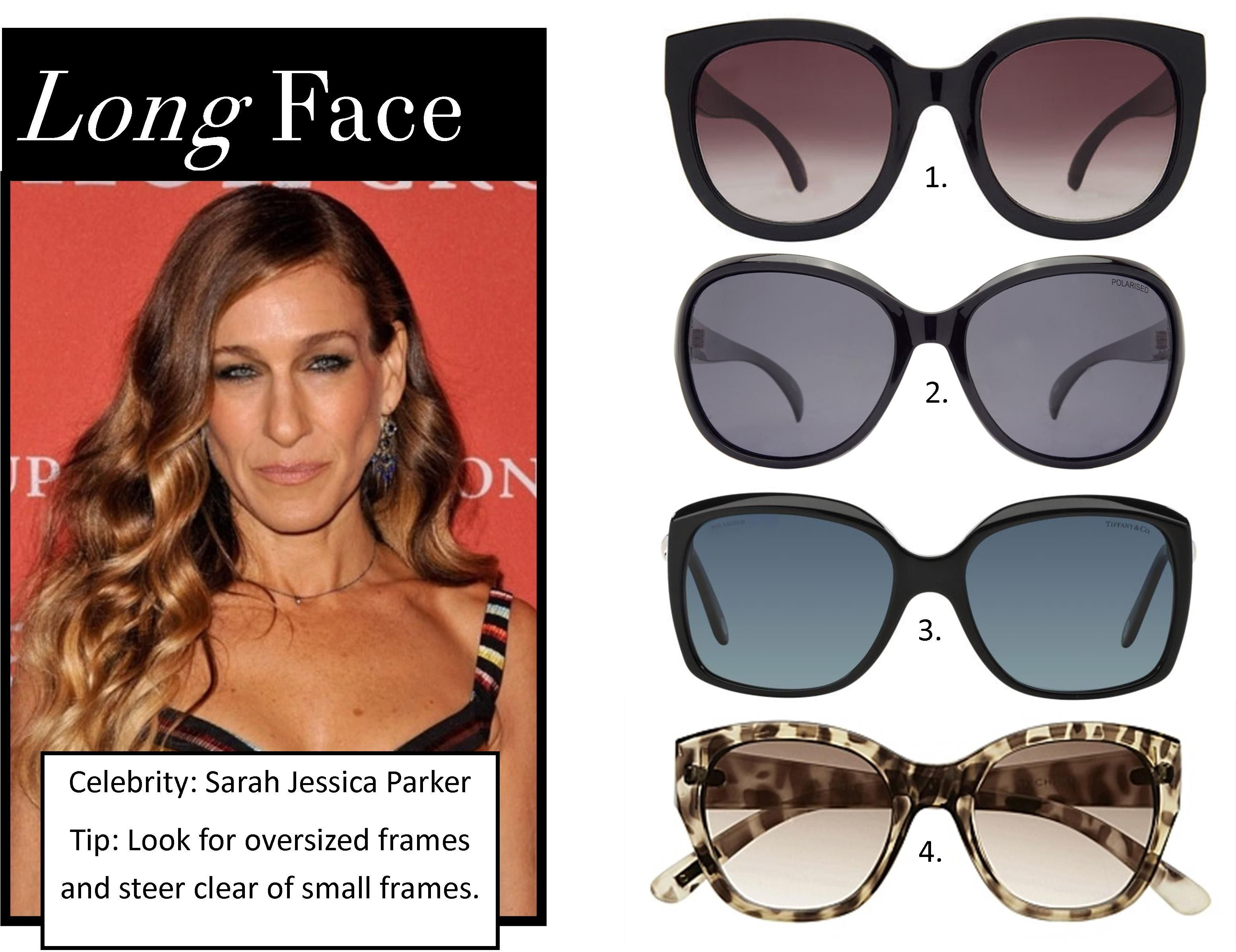 Sunglasses – The best styles for your face shape