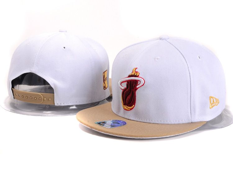 3caf733d7f5 NBA Miami Heat Snapback Hat (94)