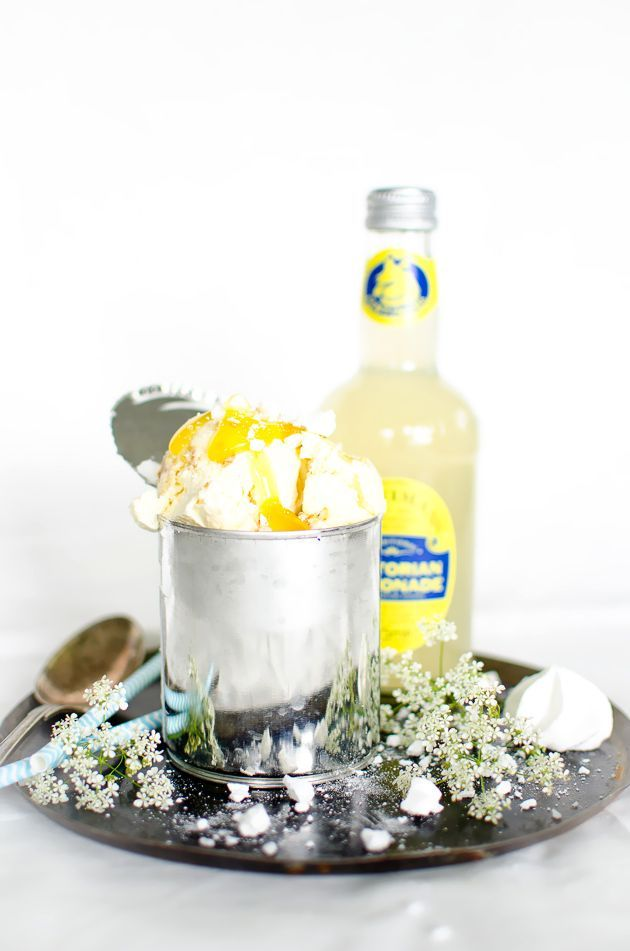Louise´s Spis: No Churn Lemon Meringue Cheesecake Ice Cream (Citronmarängglass) #lemonmeringuecheesecake Louise´s Spis: No Churn Lemon Meringue Cheesecake Ice Cream (Citronmarängglass) #lemonmeringuecheesecake