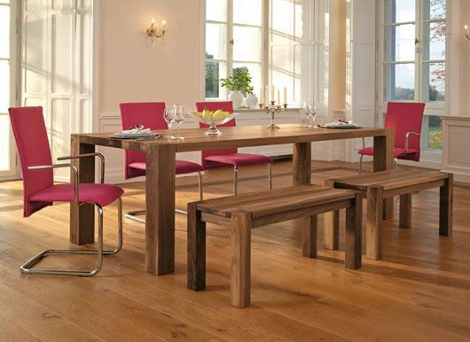 Contemporary Wooden Dining Table From Rodam Designtodesign