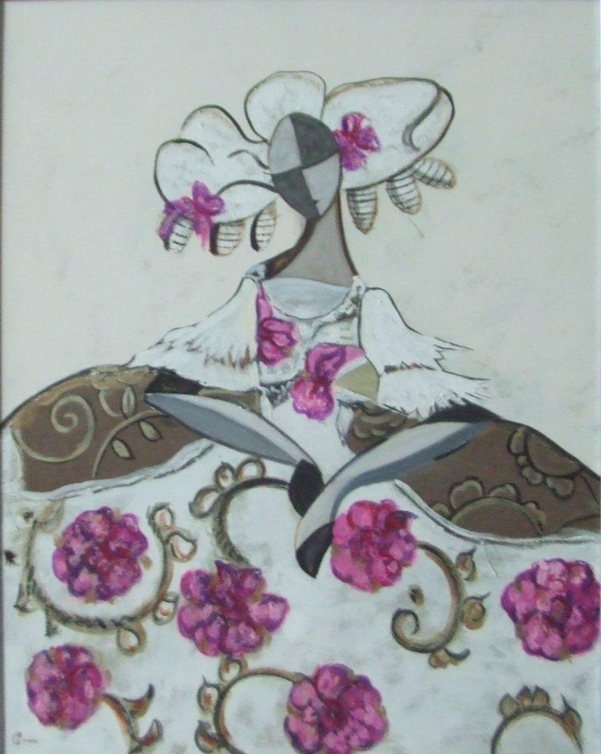 Cuadro moderno menina dulce cuadros y pinturas modernos - Cuadro meninas moderno ...