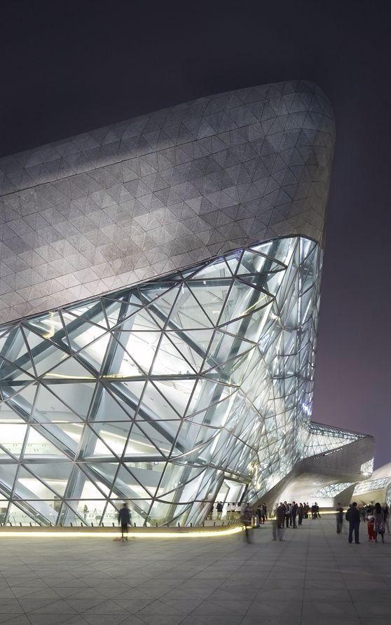 Guangzhou opera house china zaha hadid architects architektur architecture art - Zaha hadid architektur ...