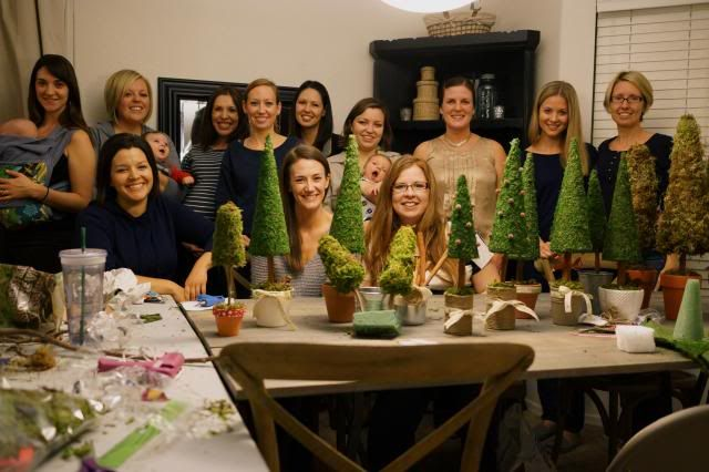 Anne's Odds and Ends: Christmas Topiary Tree Craft