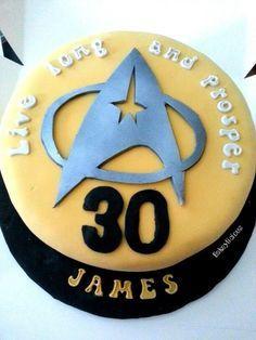 Star Trek bday ideas on Pinterest Sara bday Pinterest Star