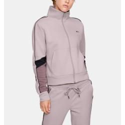 Photo of Ladies Ua hoodie made of double knit with full zip under armor
