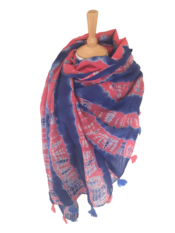 Women Sarong Spring Summer Pareo Tie Dye Scarf Cotton Etsy In 2020 Tie Dye Scarves Tie Dye Scarf