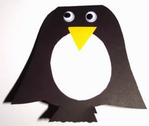 Kerajinan Anak Pembatas Buku Pinguin Cupido Creative Anak Buku