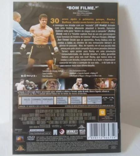 Dvd Rocky Balboa Sylvester Stallone Dublado Leg Original Mercado Livre Sylvester Stallone Rocky Balboa Balboa