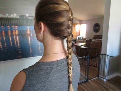 How To French Braid For Beginners Diy Step By Step Tutorial