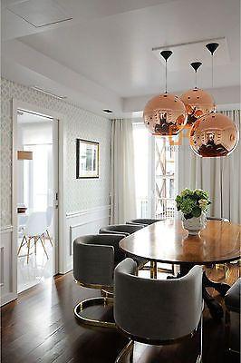7 Sizes Modern Tom Dixon Copper Mirror Ball Droplight Ceiling Pendant Lamp Esszimmer Inspiration Speisezimmereinrichtung Und Wohnen
