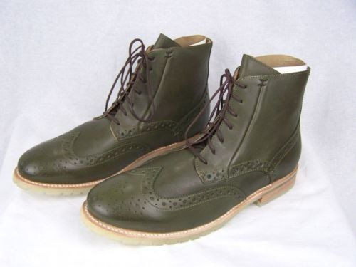 j.d. fisk phinney taille cuir chaussures bottes taille phinney d'olive hommes hommes 1f1ec9