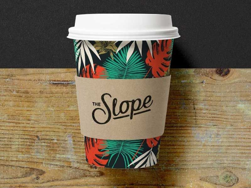 Slope Bar Coffee Cup Designs Coffee Cup Design Coffee Cups Cup Design