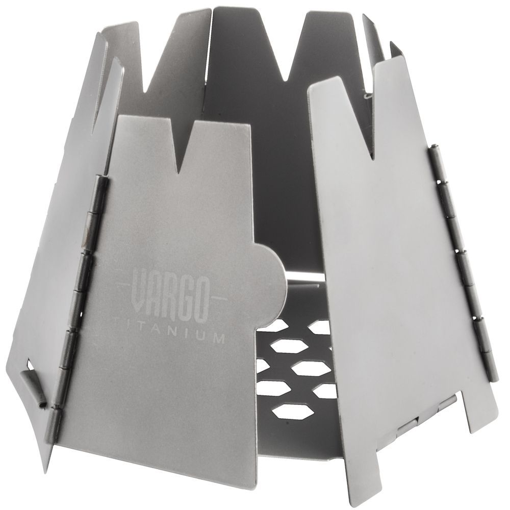 Vargo Titanium Hexagon Backpacking Wood Stove - Mountain Equipment Co-op.  Free Shipping Available - Vargo Titanium Hexagon Backpacking Wood Stove - Mountain Equipment