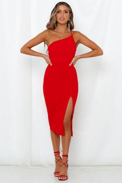 Made In Michigan Midi Dress Red -   19 dress Red midi ideas