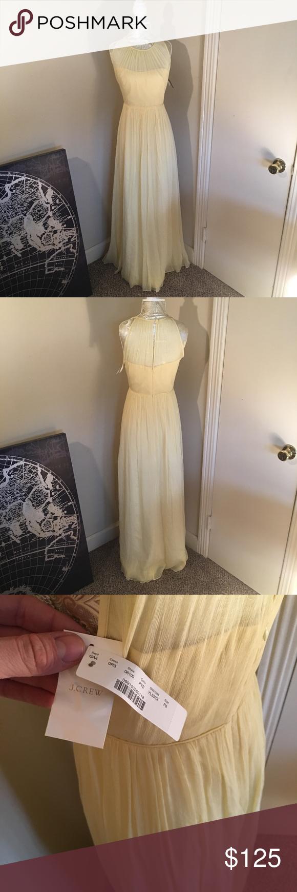 J crew promformal dress nwt my posh picks pinterest daytime
