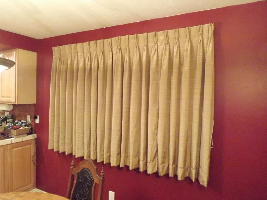Pleats turned out great on these curtains