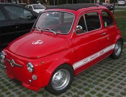 Fiat 500 Vecchia Abarth