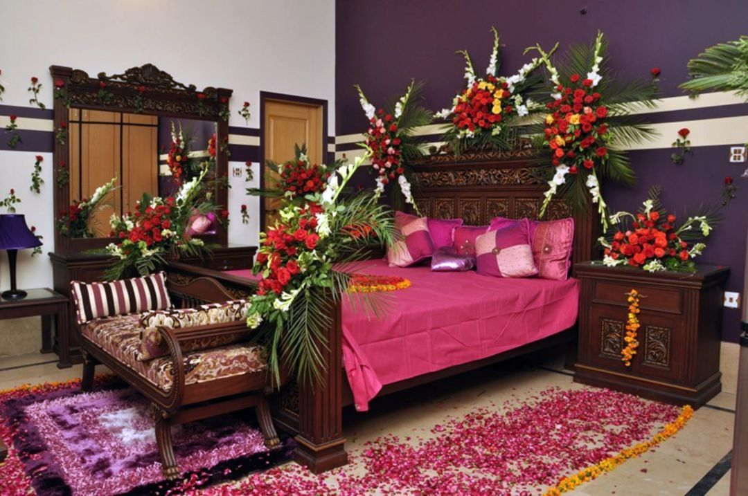 15 Beautiful Bridal Room Decoration For Your Wedding Ideas In 2020 Romantic Bedroom Design Wedding Room Decorations Wedding Bedroom
