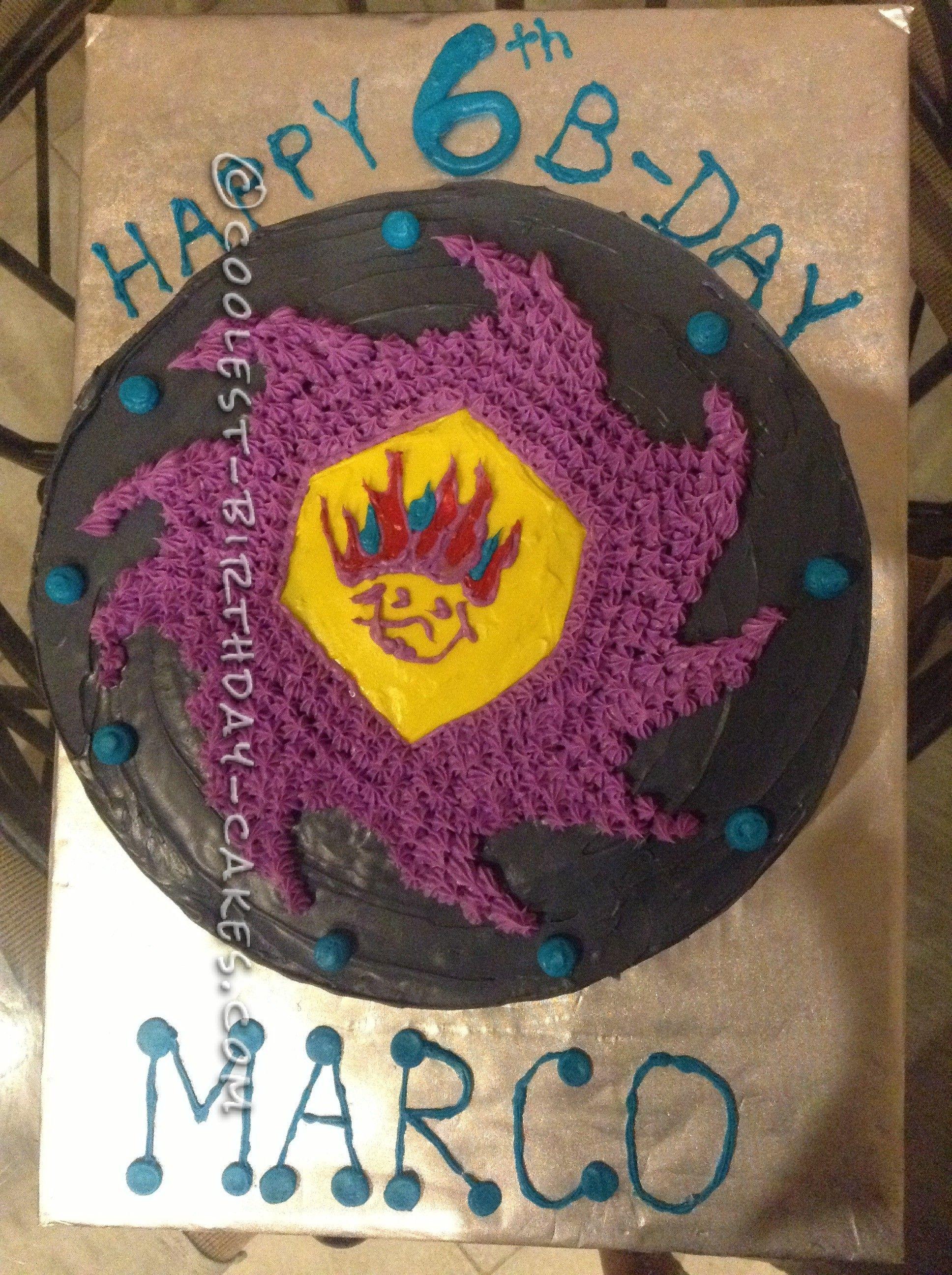 Coolest Beyblade Birthday Cake In 2019 Coolest Birthday