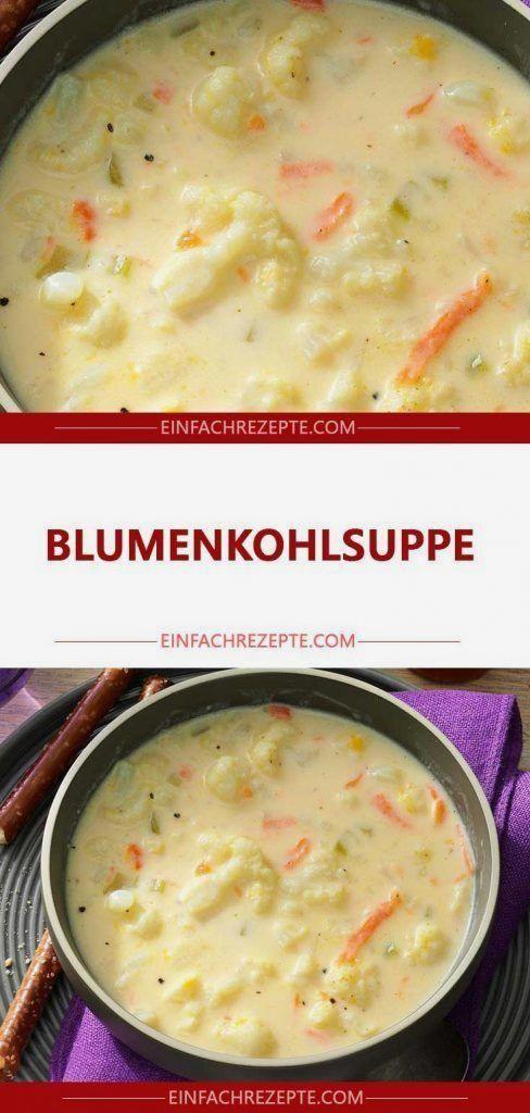 Photo of Blumenkohlsuppe 😍 😍 😍 – WordPress Website